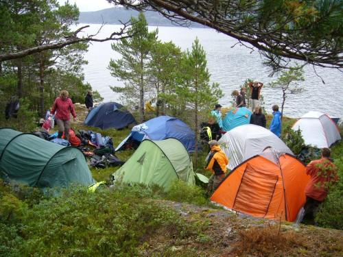 Wildcamp am Hardangerfjord