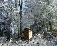 Zelten bei Schnee