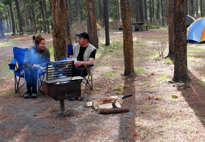 Campen mit kleinen Gruppen