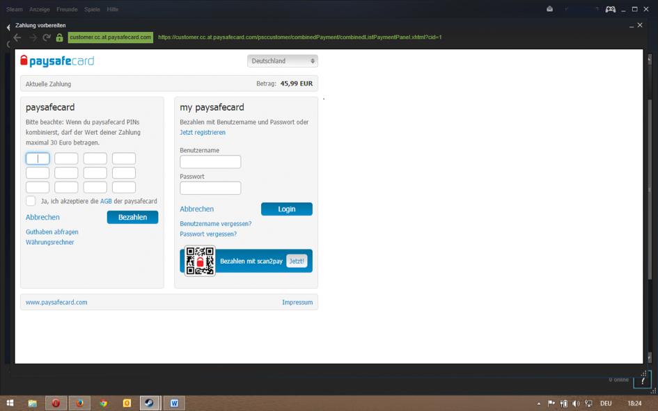 paysafecard code online kaufen lastschrift
