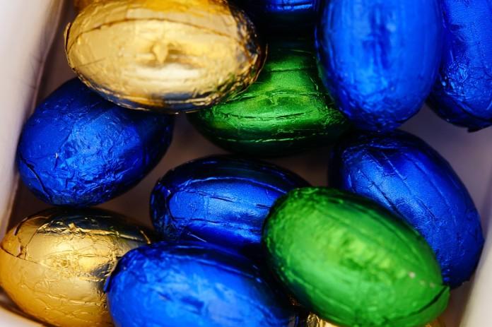 Schokoladen-Eier selbst herstellen