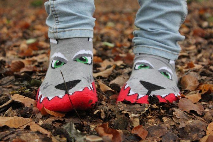 3 Spiele mit Socken