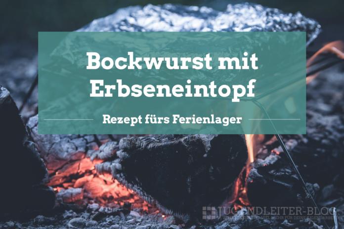 Bockwurst-Erbseneintopf
