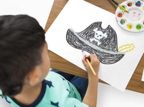 10 Piratenspiele für Kinder