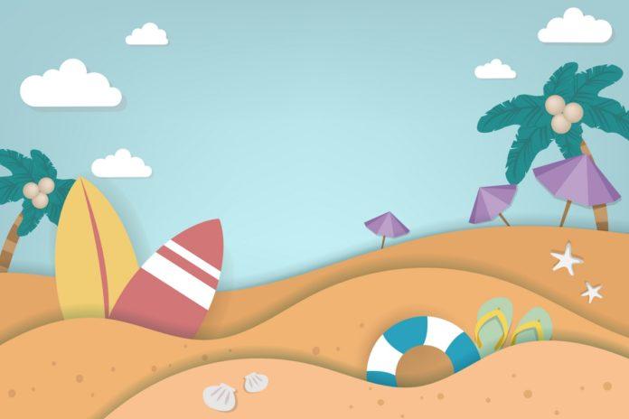 Fantasiereise für Kinder: Strand
