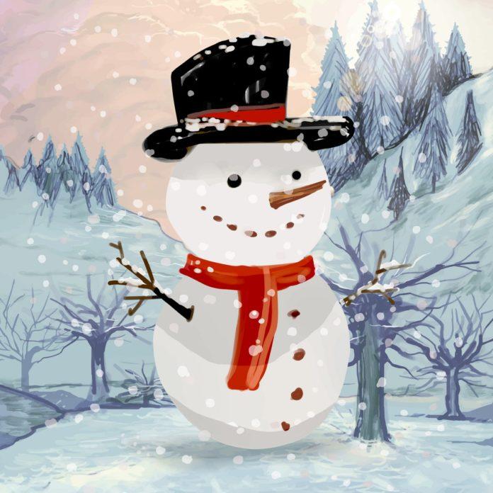 Mitmach-Geschichten für Kinder: Der Schneemann