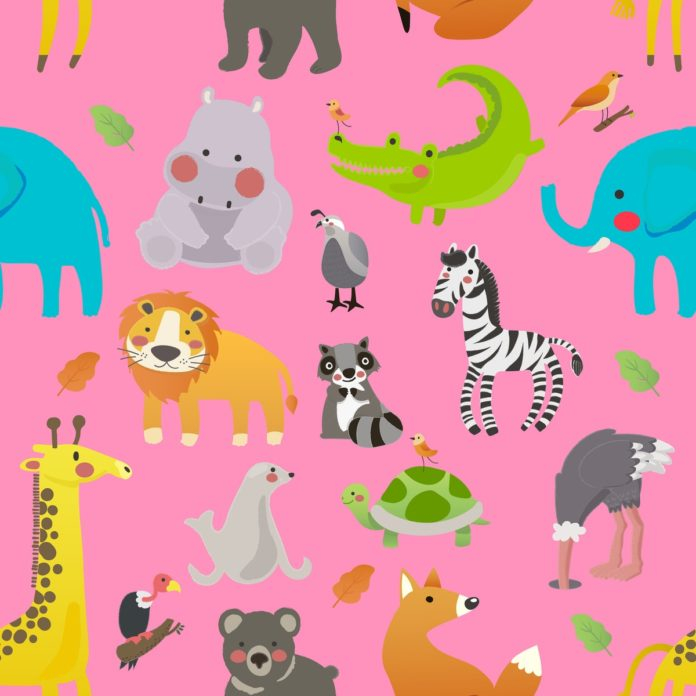 Tier-Schnitzeljagd für Kinder