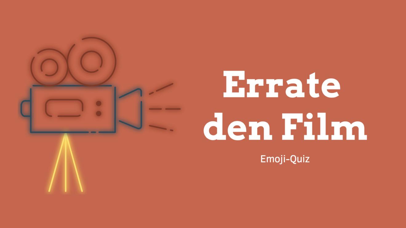 """""""Errate den Film"""" - Emoji-Quiz für Kinder als Download"""