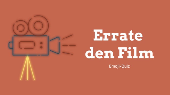 """Errate den Film"" - Emoji-Quiz für Kinder als Download"