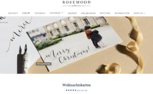 Weihnachtskarten Atelier Rosemood