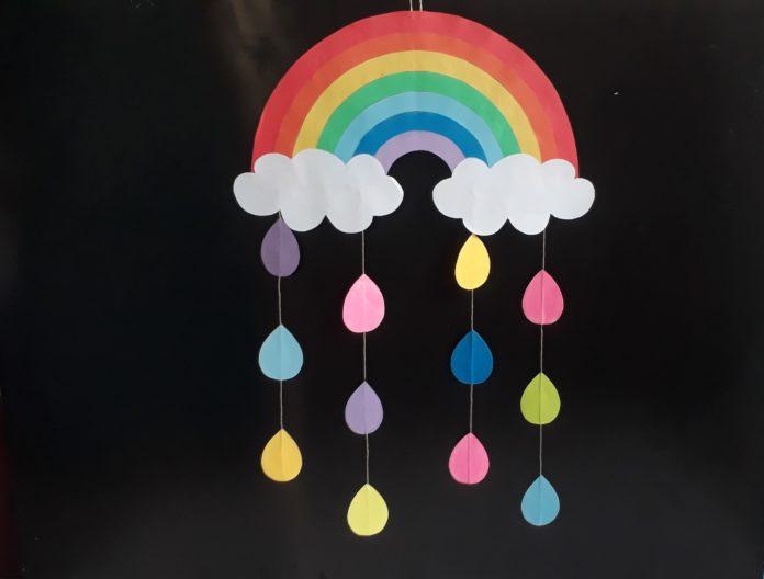 Video: einen Regenbogen basteln