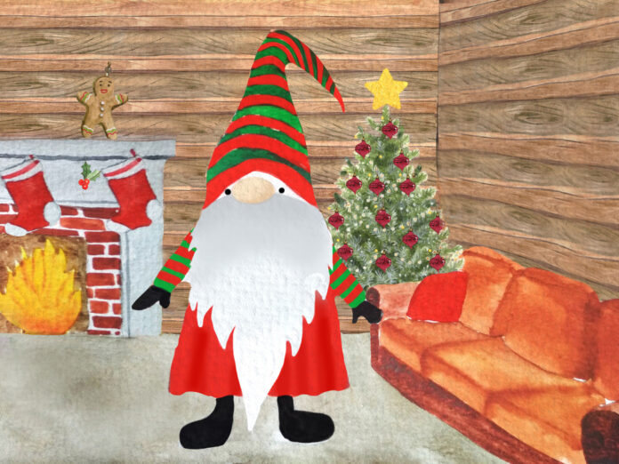 Weihnachtswichtel Tomte zieht ein: Gemeinsam durch die Adventszeit